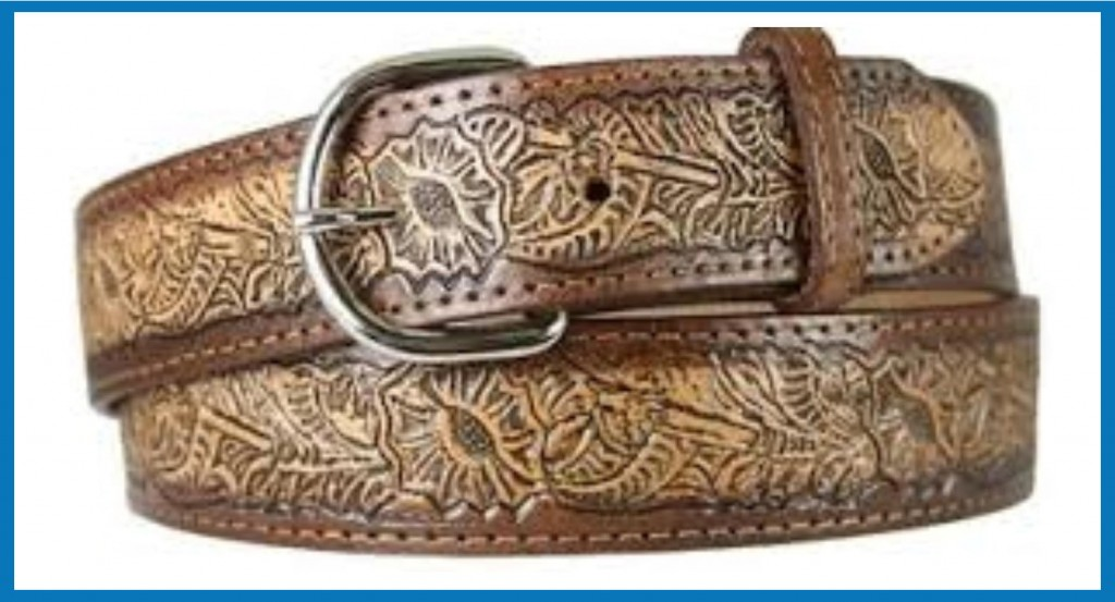 top quality belt-embossing