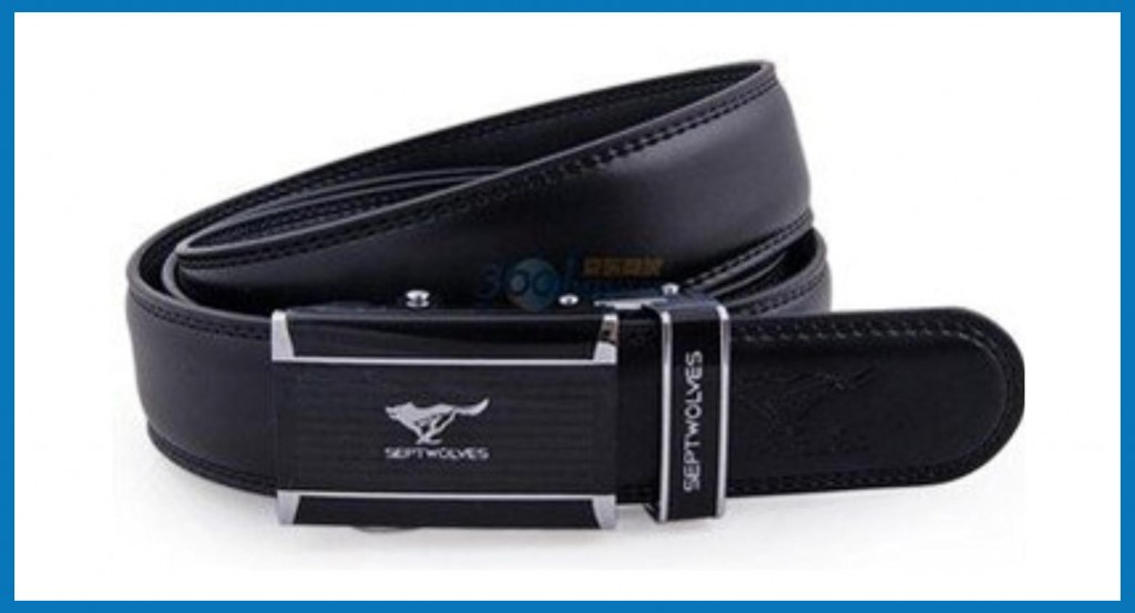 leather belt-embossing